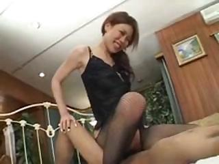 Asian Babe Hardcore Japanese Riding Skinny Stockings