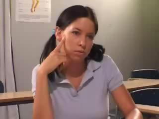 Brunette Teen Student Fucked By Teacher