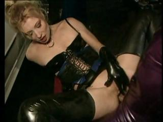 Blonde Slave Is Made To Suck Cock And Take It Hard In The Ass