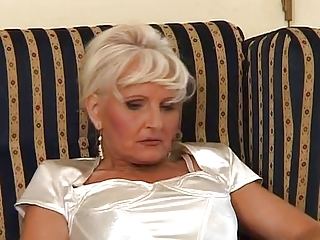 Granny In Satin Fuck On touching Young