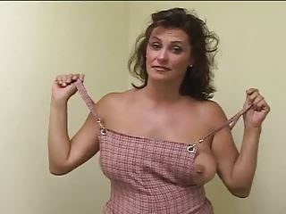 Big Tits MILF Mom Natural SaggyTits Stripper