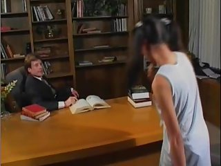 Asian Daddy Interracial Old and Young Pigtail Teacher Teen