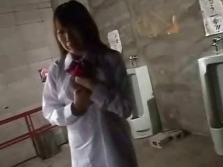 Asian Forced Japanese Student Teen Toilet Uniform