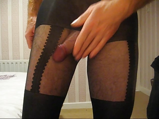 Straight Guy In Pantyhose