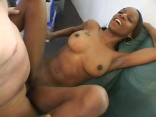 Ebony Goes For An Audition And Sucks And Fucks To Get Part