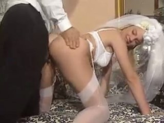 Ass Bride Doggystyle Lingerie  Pornstar Stockings Vintage