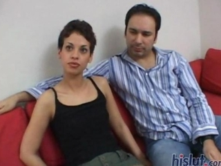 Gia Gave A First Rate Blowjob And Loved To Pinch Her Nipples