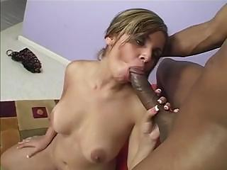 Anell Is Swimming Nude And Gets A Big Black Cock In The House