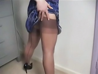 Seamed Stockings And Toys