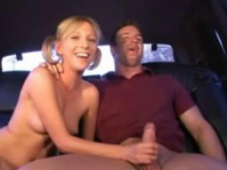Teeny Blonde Hitchhiker Made To Suck