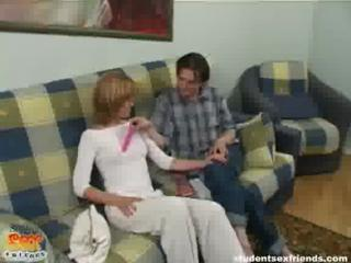 Short Hair Hot Blonde Teen Deep Fisting