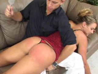 Getting Home For A Spank On Ass