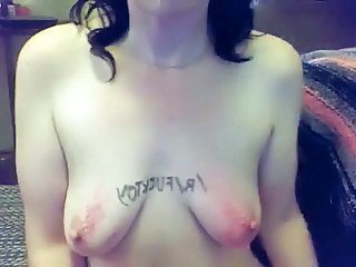Masteroftorture: Ass Spanked Tits On Cam