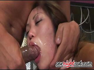 Asian Blowjob Deepthroat Forced Hardcore