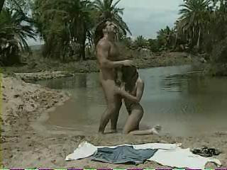 Beach Blowjob Outdoor Pornstar Vintage