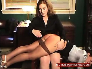 Hard Hand Spanked Girl