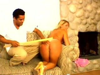 Sexy Bare Ass Spanked And Whippe...
