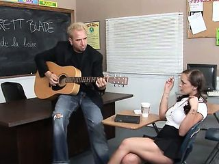 Music Teacher Fucks With Busty 19yo Coed