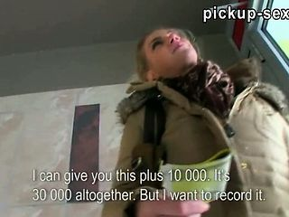 Superb Czech Babe Adele Fucked For Money