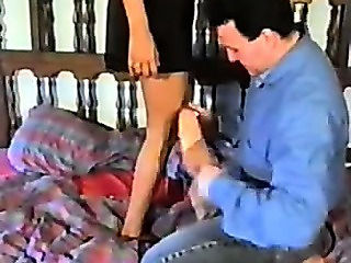 Angelique - Rare Scene With A German