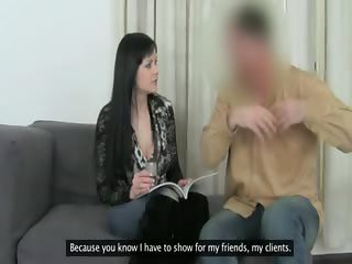 Fake Agent Having Sex With Nipples Girl