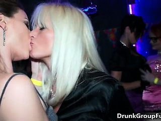 Dirty Blonde And Brunette Whores From Part3