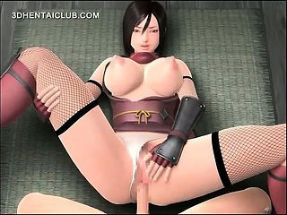 Pussy Drilled Anime Babe Cumming Her Cunt Juices