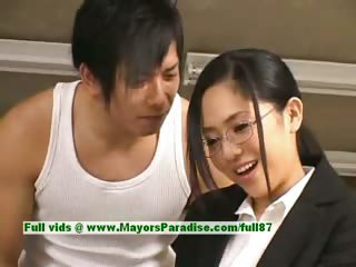 Sora Aoi Innocent Naughty Asian Secretar...
