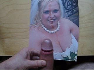 Cumming on the bride