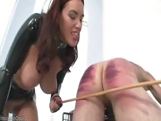 Male Slave Receives Some Upbringing From H...