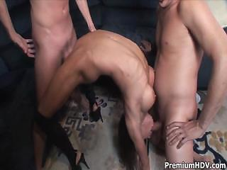 Another Hardcore Gangbang Slut