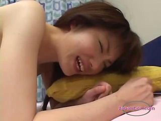 2 Asian Girls Licking Each Other Hairy Pussies Kissing On The Bed In The Bedroo