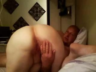 Fat Old Comme ci Amateur Granny Spreads He...