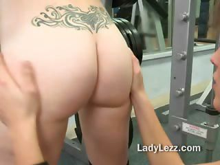 Very Sexy Tight Lesbian Seduction For A Deep Licking Of Wet Pink Pussy