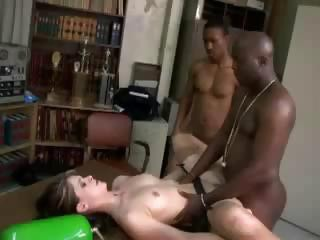 Multiple Interracial Creampie