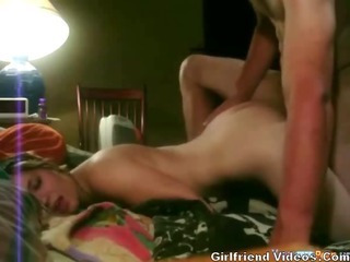 Young Gf Waterbed Fuck