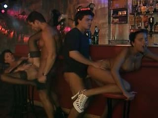 Group in a Bar - Anal - DP