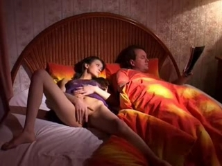 Cute Russian Girl Takes Two Cocks