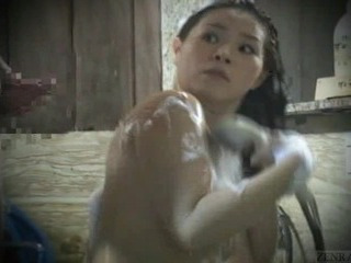 Subtitled Real Japanese Amateur Bathhous...