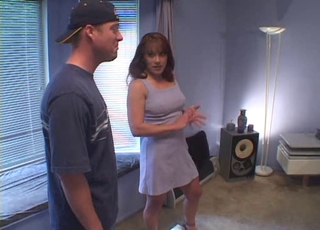 Milf Rents Room To College Boy, Then......