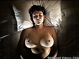 Busty Tits Space fully Masturbating
