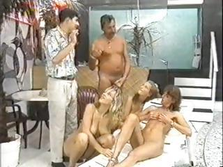 Dirty Group Sex Party With Some Of The G...