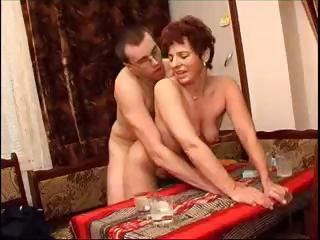Mature Drunk Couple Set The Camera And V...