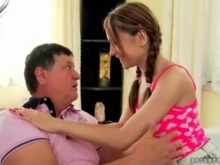 Grandpas and Teens Compilation in a sexy scene