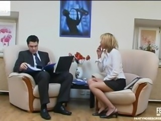 Orsi and Adam Nasty pantyhose episode