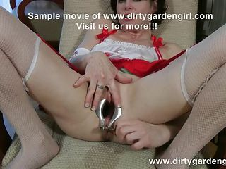 Dirtygardengirl Pussy and ass speculum & deep insertion