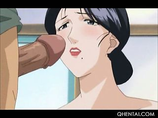 Hentai Hottie Gets A Messy Facial Added to Pussy Drilled Unending