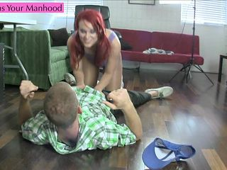 Crazy Accountant Part 2 Preview cbt pantyhose leotard foot