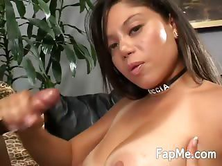 Big Ass Chick Making A Cock So Hard