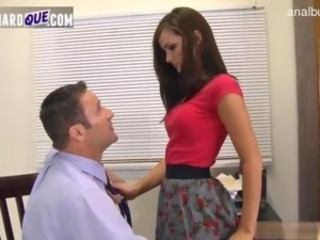 Gorgeous teacher filled with cock nightfall darkness